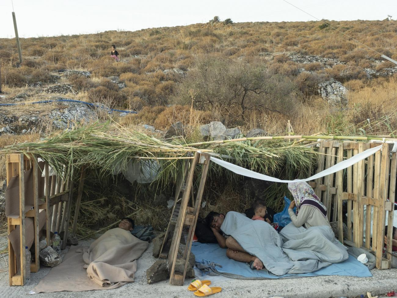 Lesbos, le 12 septembre 2020.  © Enri Canaj / Magnum Photos