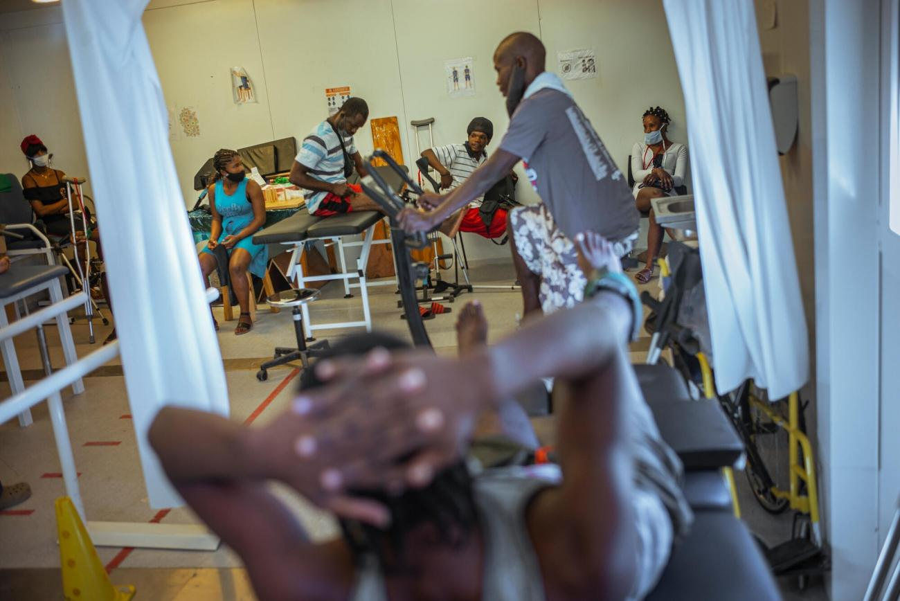 Service de physiothérapie.  © Guillaume Binet/MYOP