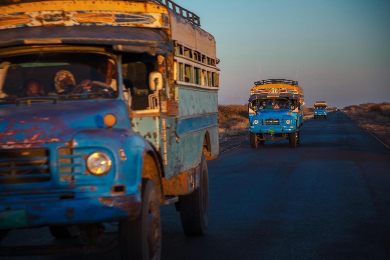 Un convoi de réfugiés éthiopiens au Soudan.      © MSF/Ehab Zawati