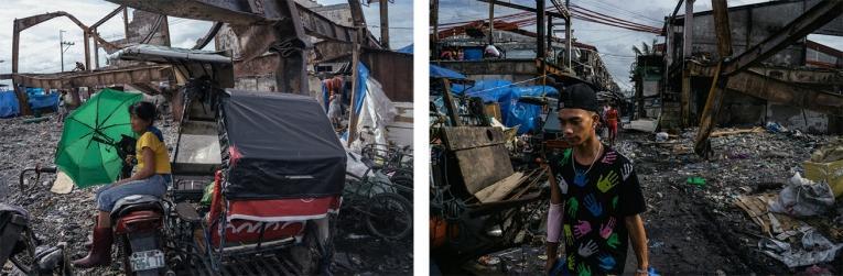 Vue du quartier d'Aroma, à Manille  © Hannah Reyes Morales
