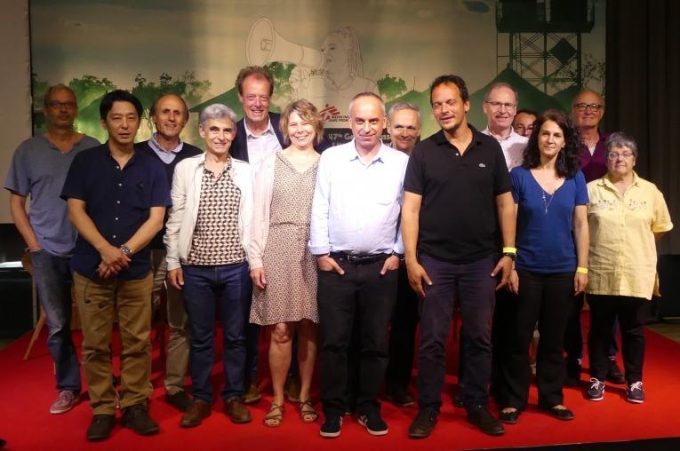 Les membres du CA de MSF élus le 10 juin 2018 à Paris.  © MSF