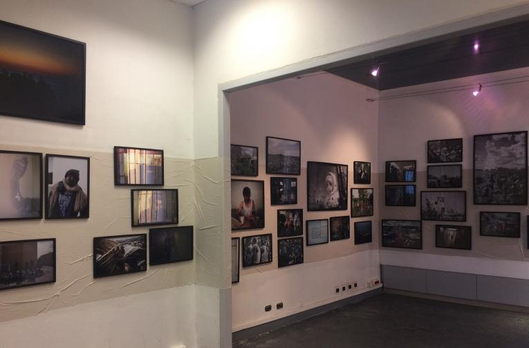 Exposition photos Exilés de MYOP et MSF à Arles / 2018  © Aurélie Baumel/MSF