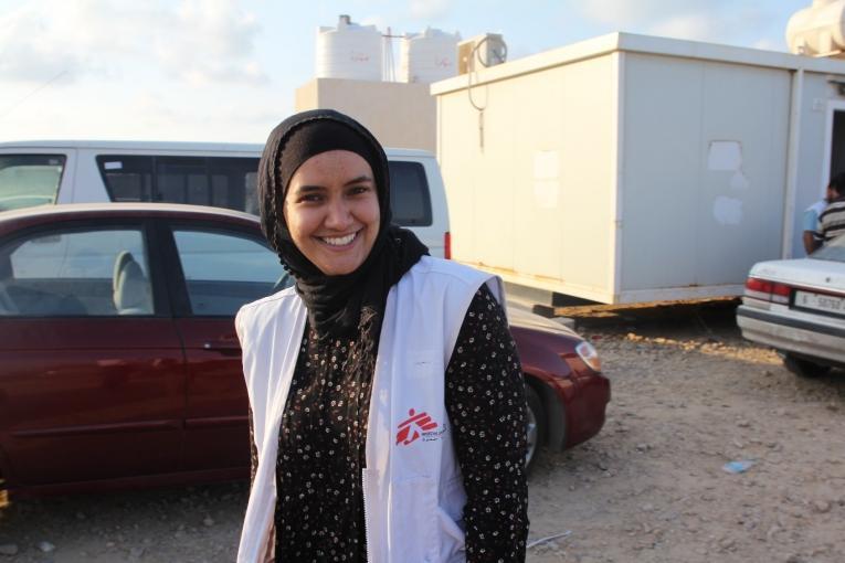 Jai Defranciscis a passé six mois en Libye en tant que responsable des soins infirmiers dans le projet MSF de Misrata. Libye. 2019.  © MSF