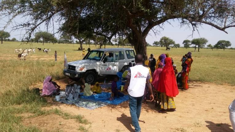 Depuis 2017, MSF apporte une assistance médicale et humanitaire à la population de Maïné-Soroa, située à une soixantaine de kilomètres de la ville de Diffa dans le sud-est du Niger.  © MSF