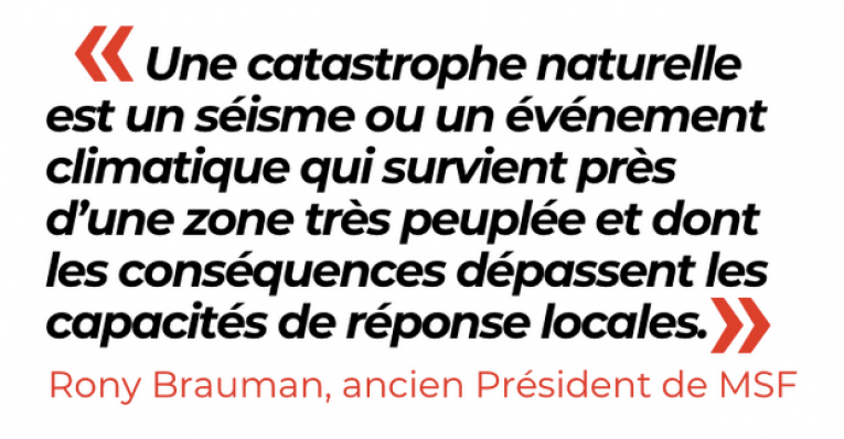 Citation de Rony Brauman