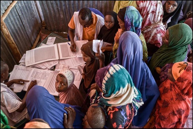 Maternité du centre de santé de Dolo Ado, en Éthiopie, février 2015.  © Matthias Steinbach/MSF