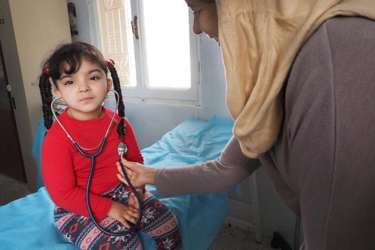 Polyclinique de Zwara, en Libye. Avril 2016  © Samuel Gratacap
