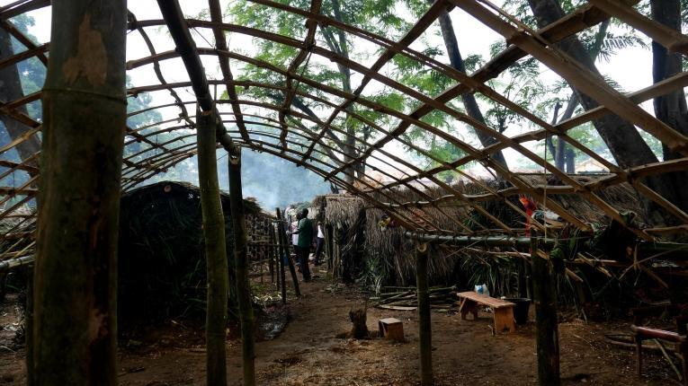 Mai 2017. Pour la première fois les gens d'Alindo ont recours à la protection de la Mission Catholique.  © Lali Cambra/MSF
