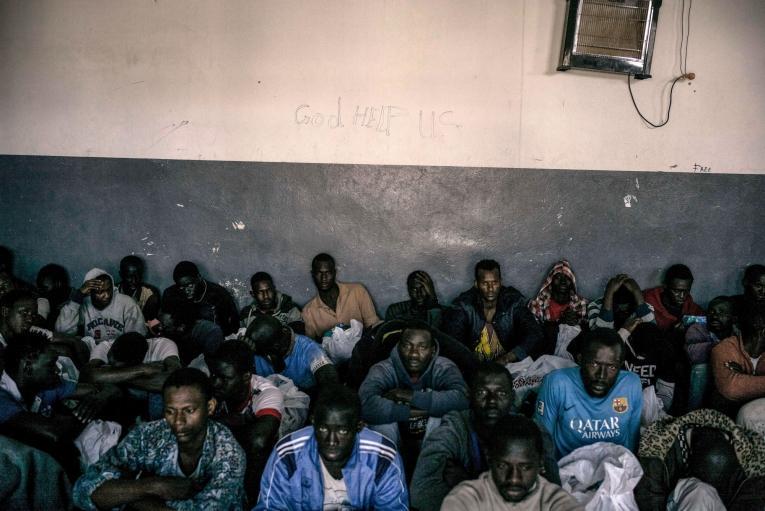 Les détenus passent des mois en détention sans savoir quand ils seront relâchés.  © Guillaume Binet/Myop