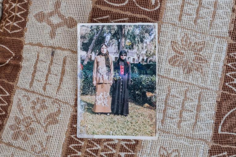Photographie de famille de Nawal.  © Agnes Varraine-Leca