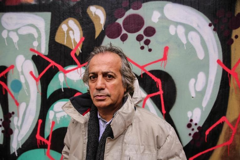 Jamal, professeur kurde de 50 ans, originaire de l'Iran.  © Mohammad Ghannam/MSF