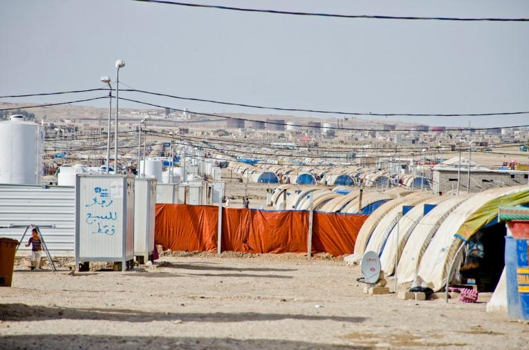 MSF a commencé à travailler à Qayara en 2016.  © Hassan Kamal Al-Deen/MSF