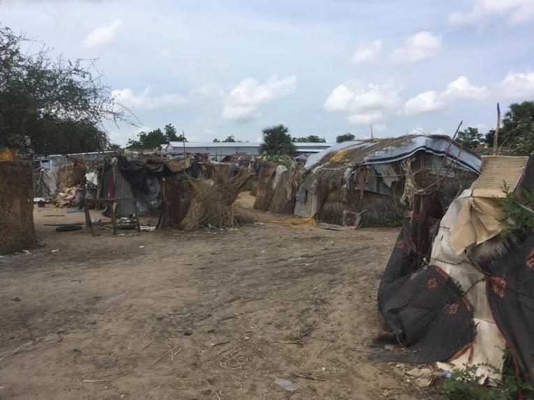 Terrain dit « de réserve » à proximité du centre MSF de N'Djamena. N'Djamena. 2018.  © Anaïs Deprade/MSF