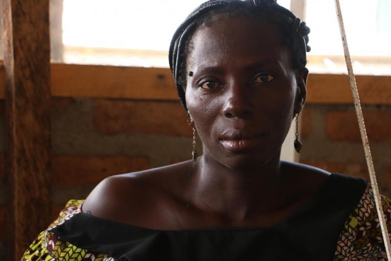 Sophie, réfugiée centrafricaine au Tchad. 2018.  © MSF/Candida Lobes