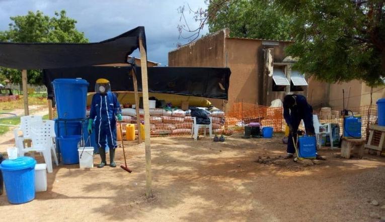 Centre de traitement du choléra de Dan Issa. Niger. 2018.  © Moctar Abass/MSF