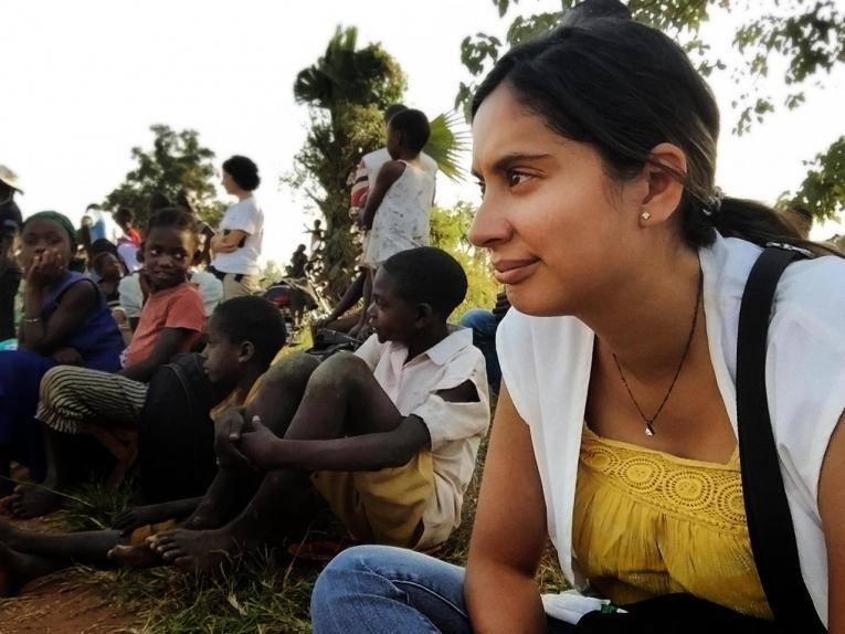 Silvia Márquez est responsable des activités de santé mentale du programme MSF de Yambio. 2019. Soudan du Sud.  © MSF