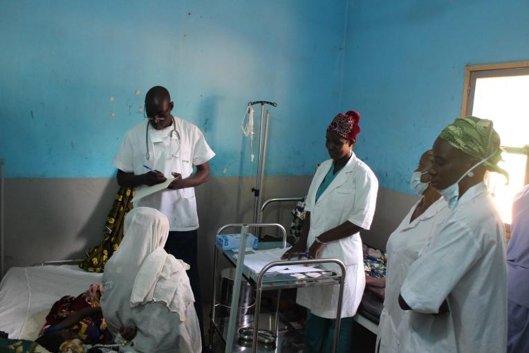 Projet MSF à Douentza. Mali. 2018.  © Pape Cire Kane/MSF