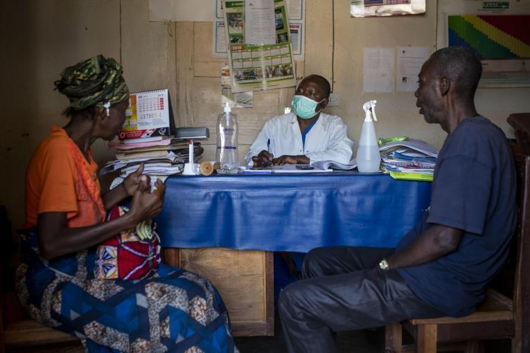 Centre de santé de Beni, en RDC.  © Pablo Garrigos/MSF