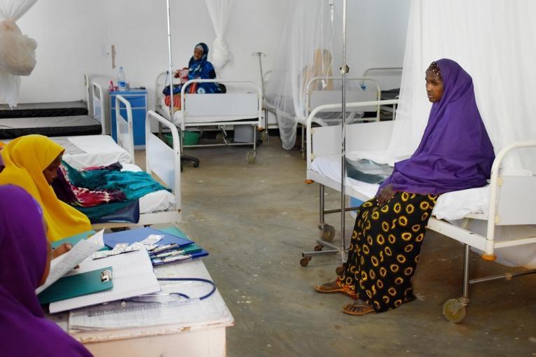 Depuis mai 2018, MSF soutient l'hôpital régional de Baidoa, dans le sud-ouest de la Somalie. Entre mai et décembre 2018, 686 nouveau-nés y ont vu le jour.  © Adan Said Abdi/MSF