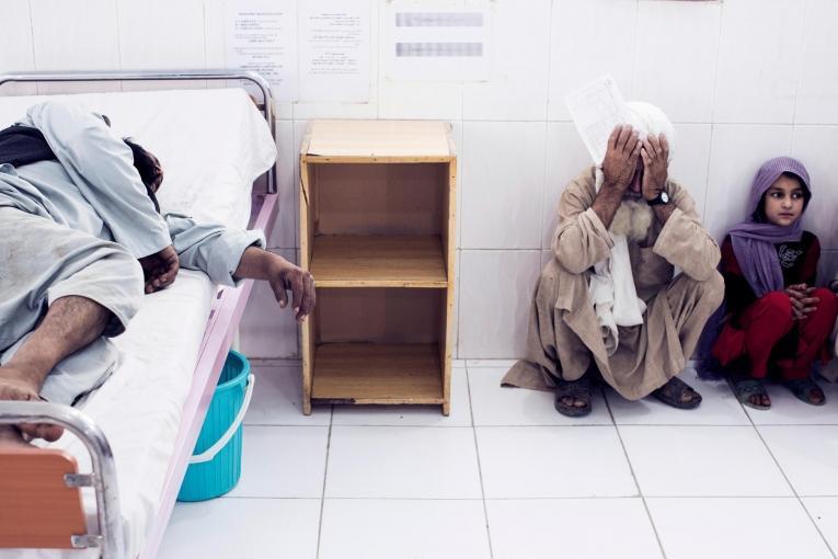 Hôpital Boost, Lashkar Gah, Province du Helmand en Afghanistan, 2013  © Mikhail Galustov