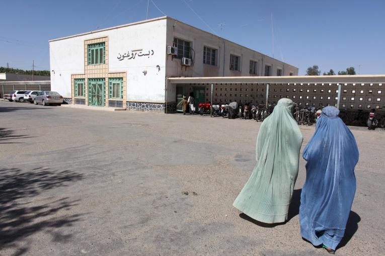 Hôpital Boost, Lashkar Gah, Province du Helmand en Afghanistan, 2010  © Ton Koene