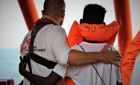 Ocean Viking: Transfer Rescued People for Disembarkation in Malta