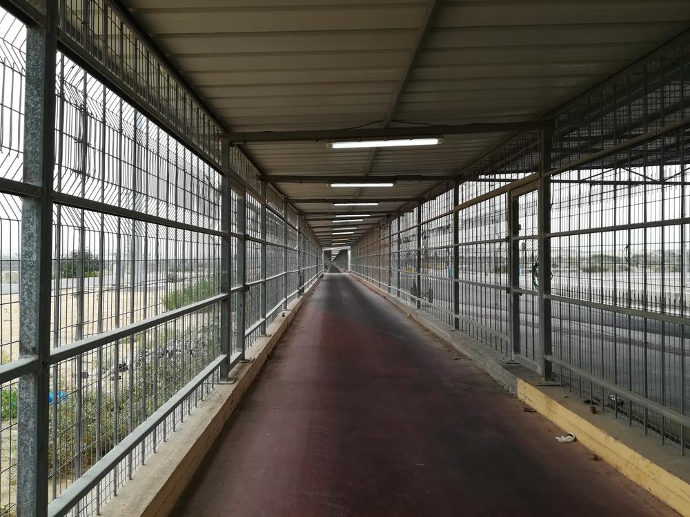 Un tunnel d'un kilomètre sépare Gaza d'Israël au point de passage d'Erez