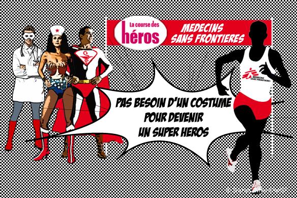 Course des héros 2012 : Pas besoin d'un costume pour devenir un super héros