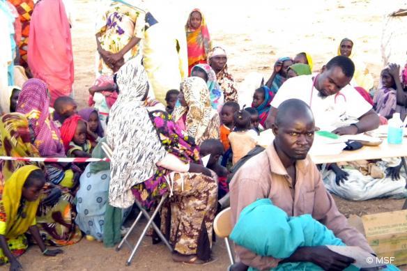 Tchad, auprès des réfugiés à Tissi. Avril 2013