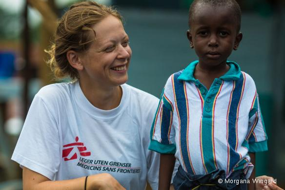 Ane et Patrick, Monrovia, septembre 2014