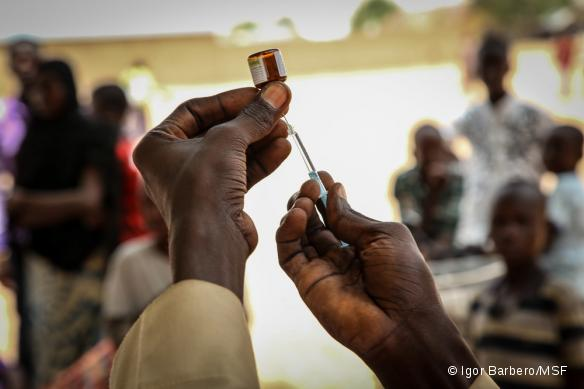 Vaccination méningite dans l'Etat de Yobe, au Nigeria.