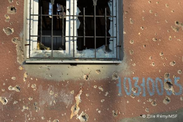 Ukraine - Donetsk bombardé