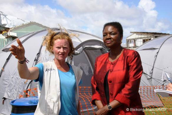Anna Halford, coordinatrice MSF