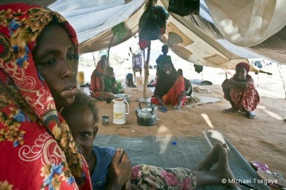 Réfugiés somaliens dans le camp de Liben, en Ethiopie.