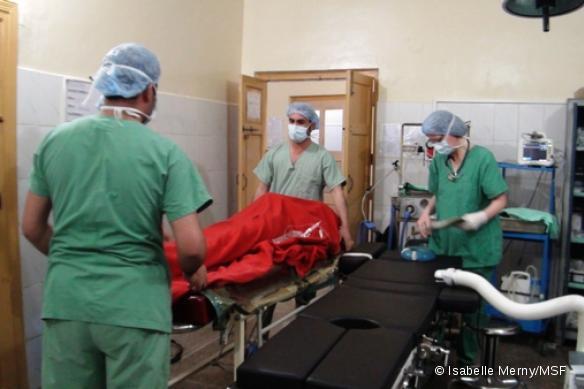 Bloc opératoire de l'hôpital THQ de Hangu, Pakistan
