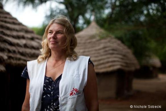 Cokie Van der Velde, au Soudan du Sud - Août 2012