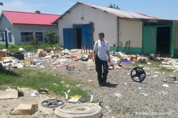 En 2013, le centre de santé MSF de Pibor avait déjà été pillé