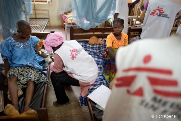 MSF à l'hôpital de Batangafo - Juillet 2013