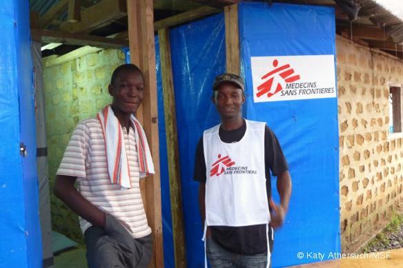 Liberia - Le 1000ème patient MSF survivant