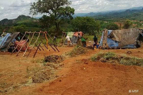 Afflux de réfugiés mozambicains au Malawi