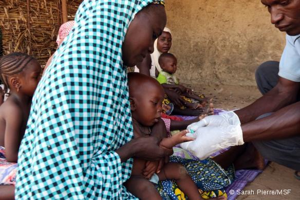 Activités MSF dans l'hôpital de Madarounfa, Niger, août 2017