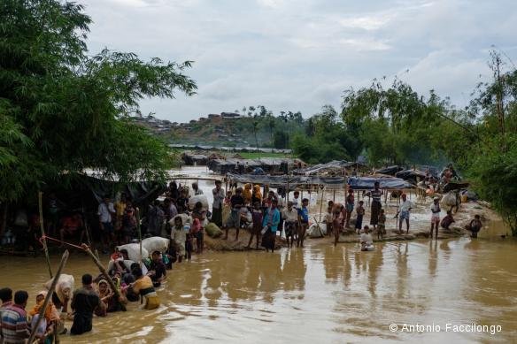Réfugiés Rohingyas au Bangladesh, septembre 2017