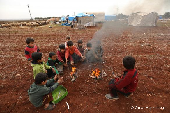 Idlib: Newly displaced persons - Janvier 2018