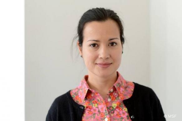 Le Dr Natasha Reyes, coordinatrice d'urgence pour MSF aux Philippines.