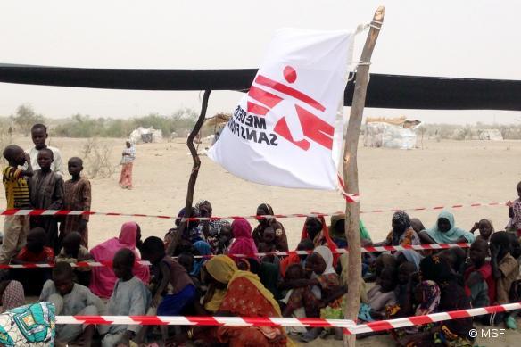 Camp de Yebi à Bosso, dans la région de Diffa, au Niger en mai dernier.