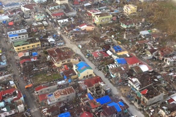 Guiuan, aux Philippines, le 14 novembre 2013.
