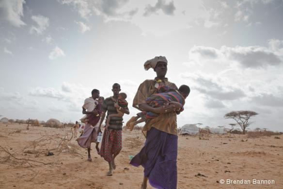 Des réfugiés somaliens dans le camp de Dadaab, au Kenya, juillet 2011