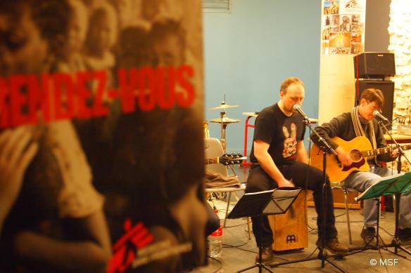 Concert Polycoeur pour MSF