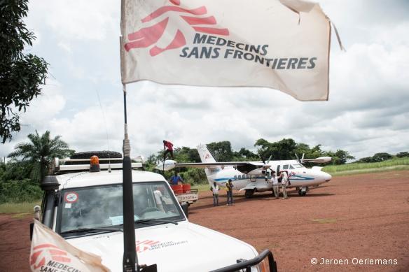 Bambari, en République centrafricaine, septembre 2014.