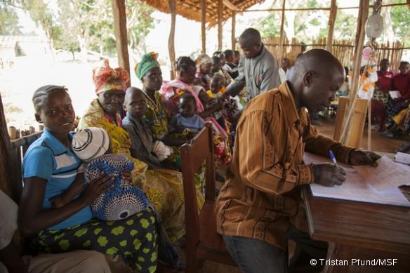 MSF a ouvert deux postes de santé supplémentaires près des sites de regroupement de Geti.
